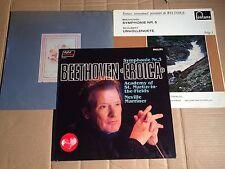 BEETHOVEN - SINF. 3, 4, 5 + 8 - MARRINER / PFITZNER / VAN OTTERLOO - 3 LP
