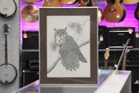 Great Horned Owl 3 Print by John Paul Lavand Winnipeg Manitoba Preview