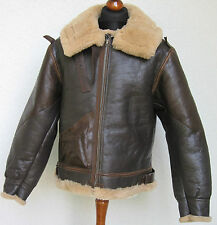 US B3 Eastman Volo Jacket Rivestimento .50 Cal B-3 Giacca pelle Airforce mis 48