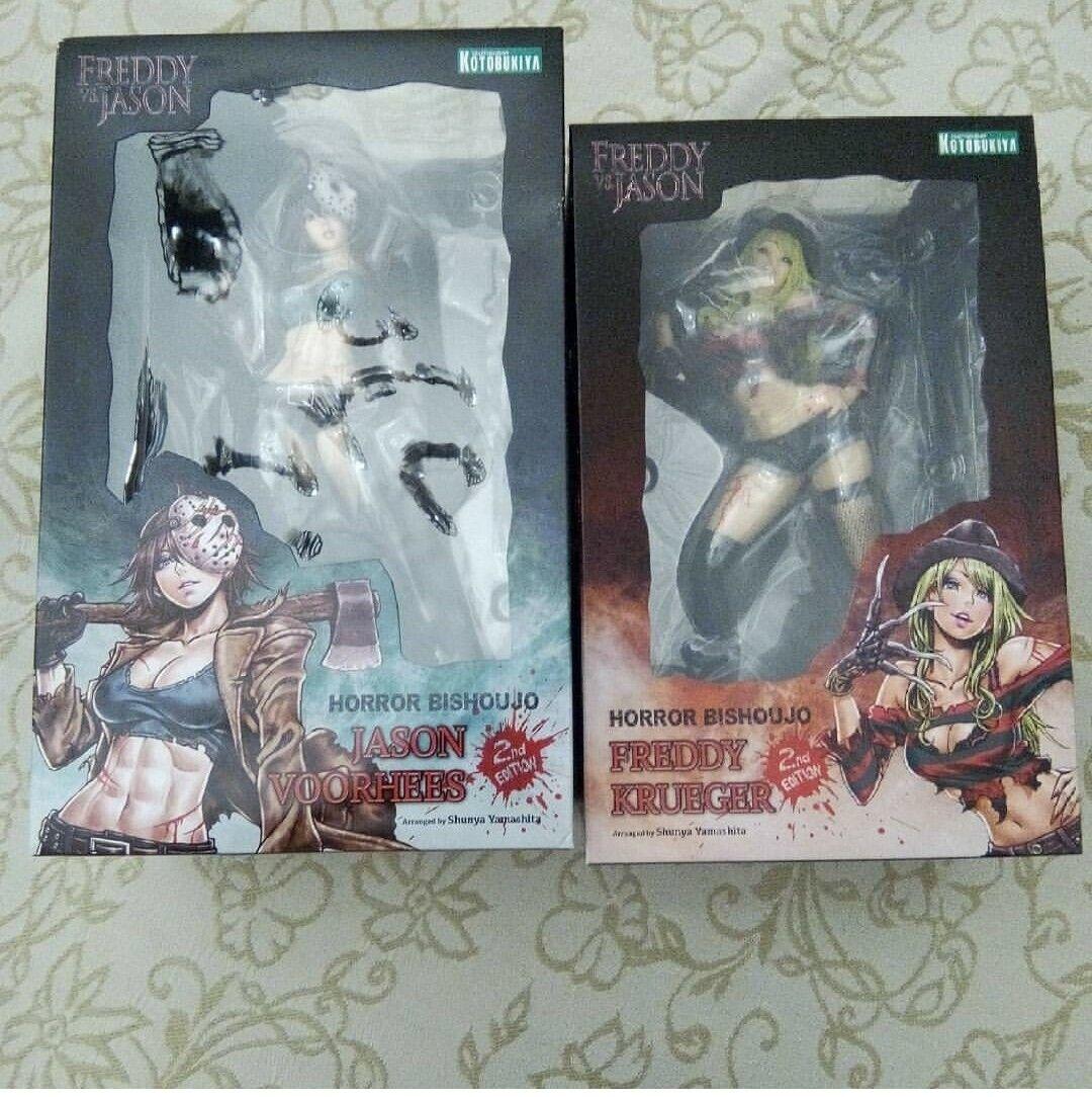 Frossody vs Jason Girl Bishoujo Horror Statue cifra Kotobukiya