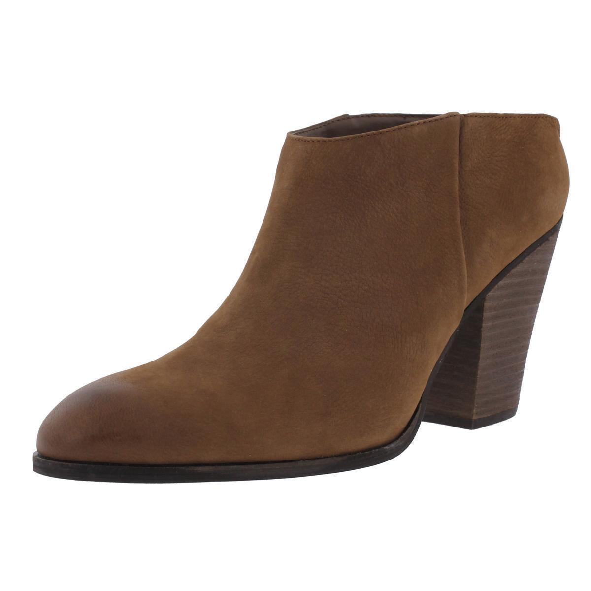 Steve Madden 2894 Womens Hilltop Brown Nubuck Booties Shoes Size 6