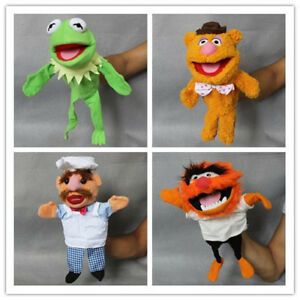 Details about Muppets Most Wanted Show Kermit the Frog Plush Doll Hand  Puppet Toy Gift