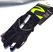 Cannondale Blaze Winter Cycling Gloves 2G451 LG Black Touch Screen NEW Tags
