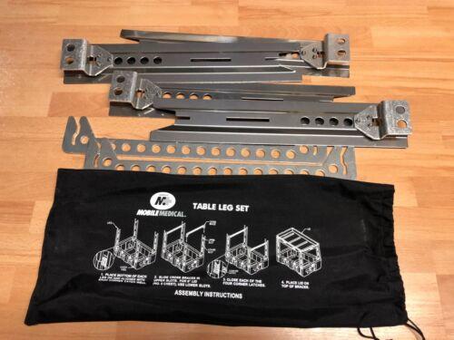 US GI Hardigg Mobile Medical  Table Leg Set für Med Chest Drawer