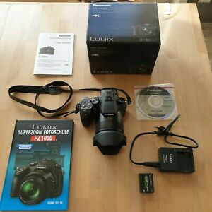 Panasonic LUMIX DMC-FZ1000 20,1MP Bridgekamera - Schwarz