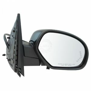 Mirror-Power-Folding-Heated-Signal-Puddle-Right-RH-for-Chevy-GMC-Pickup-SUV