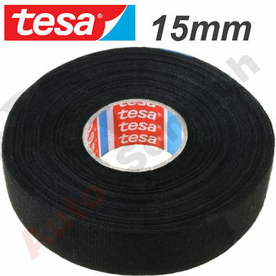 Kfz Auto Kabel Isolierband Klebeband Gewebeband 15mm X 25m Tesa Band Fleece Tape Ebay