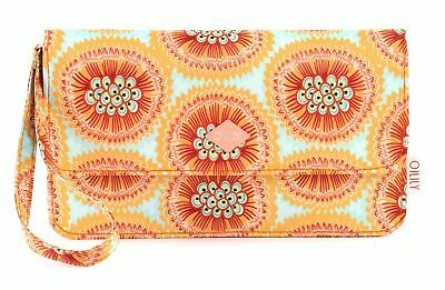 Bellissimo Oilily Groovy Passion Fruit Clutch Mhf Clutch Borsa A Orange Arancione-mostra Il Titolo Originale Completa In Specifiche