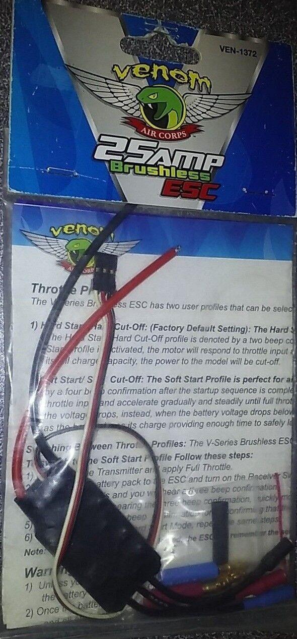 Venom 25AMP Brushless ESC VEN-1372 New