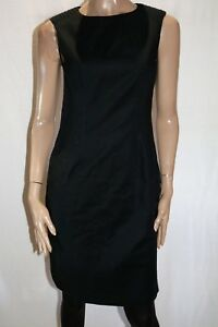 DAVID-LAWRENCE-Designer-Black-Textured-Shoulder-Compact-Dress-Size-10-BNWT-SA72