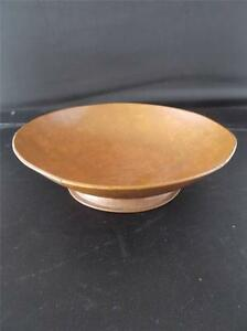 Vtg 1937 Copper Arts & Crafts Signed Hand Beaten Footed Bowl F Blackburn Halifax For Fast Shipping Periods & Styles Arts & Crafts Movement