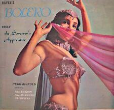 HUGO RIGNOLD/LONDON PHIL. bolero RAVEL the sorcerer's aprentice DUKAS LP VG++