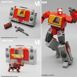 NEW-MFT-MF-49-MF49-G1-Blaster-Emitter-Transformers-Mini-Action-Figure-In-Stock