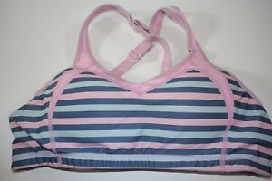 1afa5a0a46709 Brooks Moving Comfort Sports Bra Medium 34 AB 36 A Pink Cross High ...