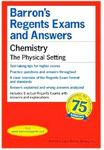 Chemistry The Physical Setting Barron's Regents Exams and ...