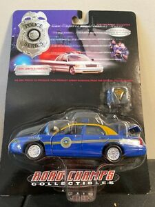 Road Champs 1:43 Virginia State Police Car 1998 Ford Crown Victoria Diecast