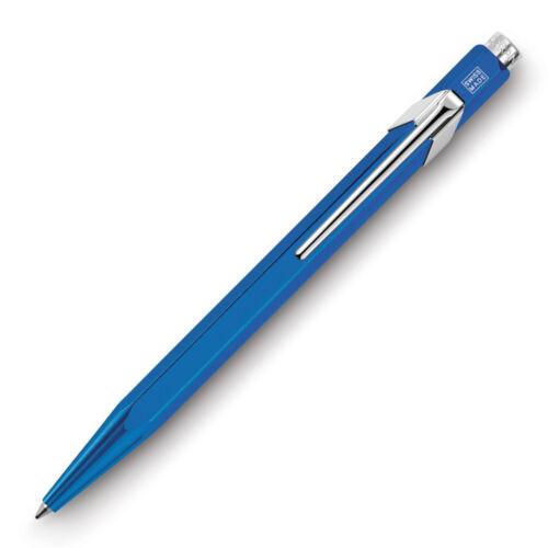 0849.140 NEU/&OVP Caran d/'Ache Kugelschreiber Ballpoint 849 Metal-X blau//blue