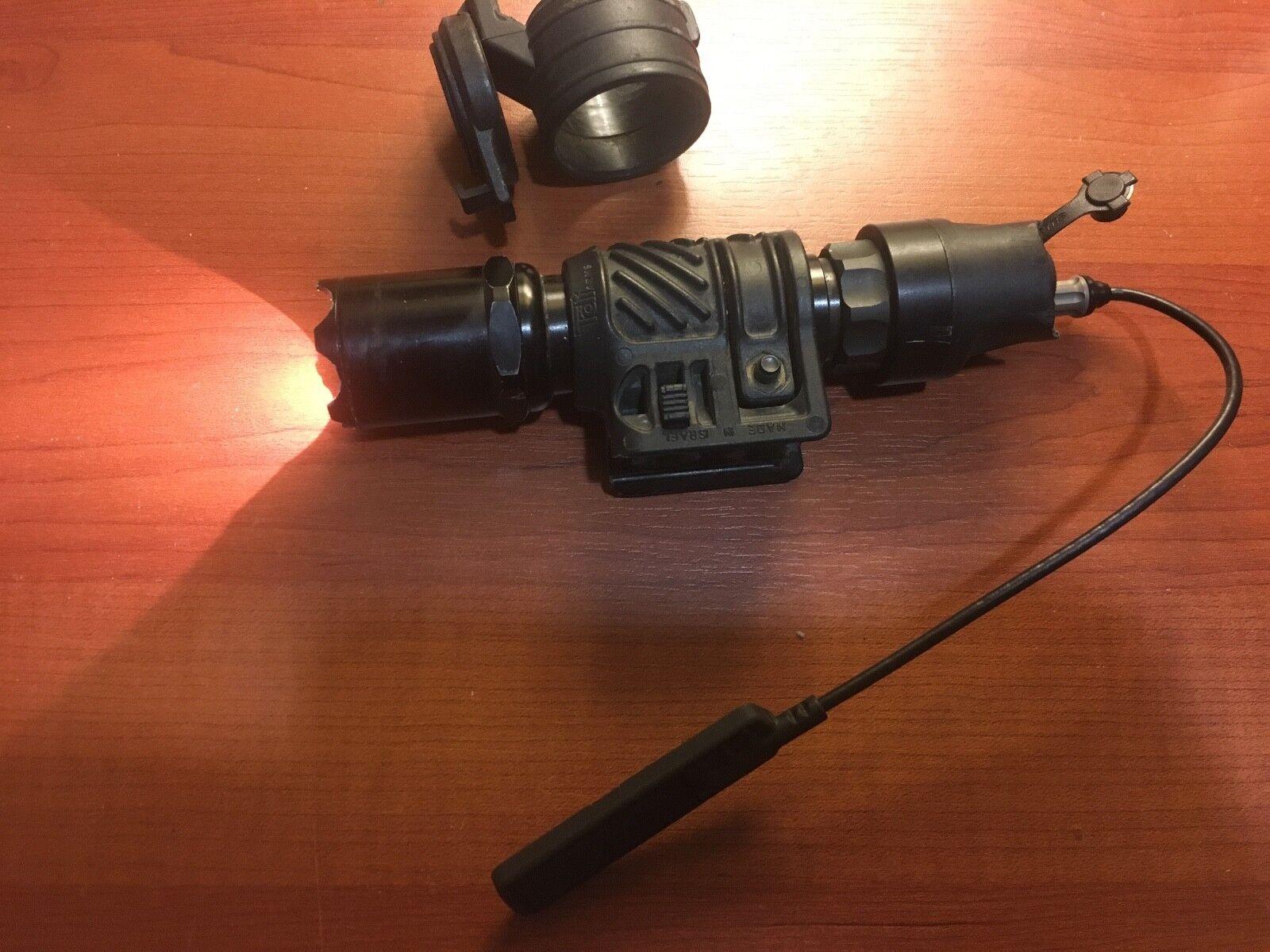 Surefire 6P Defender Tactical Flashlight Flashlight Flashlight w Tailcalp pressure switch filter etc 60dca8