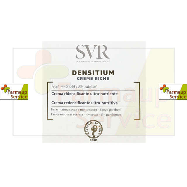 Svr Densitium Crema Ridensificante Ultra Nutriente Con Acido Ialuronico 50 ml