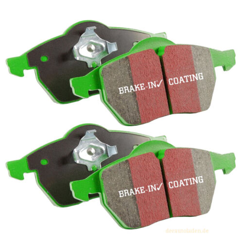EBC Greenstuff Bremsbeläge DP21089 Bremsklötze Vorderachse Bremsen Belag brakes