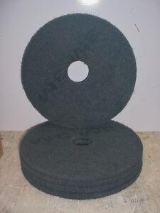 Floor buffing buffer stripper pads 17 black 7200 175 for 17 floor buffer pads