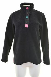 JOULES-Womens-Fleece-Jumper-Size-10-Small-Navy-Blue-Polyester-LW71