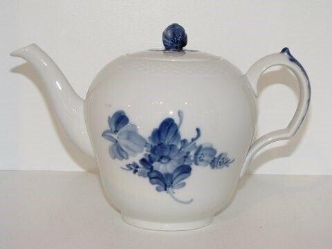 Porcelæn, Blå Blomst Flettet  Tekande, Blå Blomst