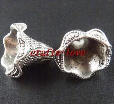32pcs Tibet Silver Nice Jewelry Bead Caps 17x22mm 11236
