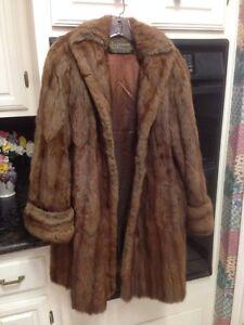 Mink Coat Value >> Silverman Furs Newport News Va True Vintage Brown Fur Coat With