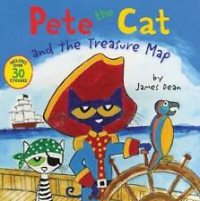Pete the Cat: Pete the Cat and the Treasure Map by James Dean (2017, Paperback)