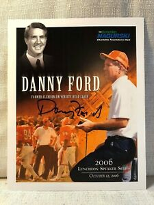 Danny Ford Signed Clemson Tigers 2006 Bronko Nagurski ...