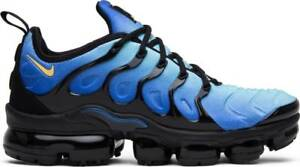 920dccbc199e Nike Air Vapormax Plus Original Fade Black Hyper Blue Yellow 924453 ...