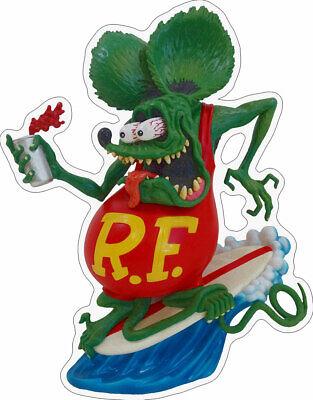 Paint Partners Rat Fink Big Daddy Ed Roth Plasma Metal Sign