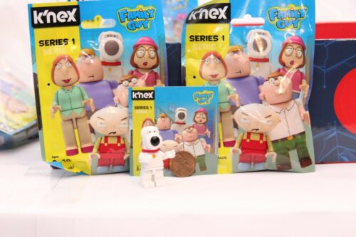 "Choose Brian or Chris K/'NEX Family Guy Series 1 Collectible 2/"" Mini Figures"