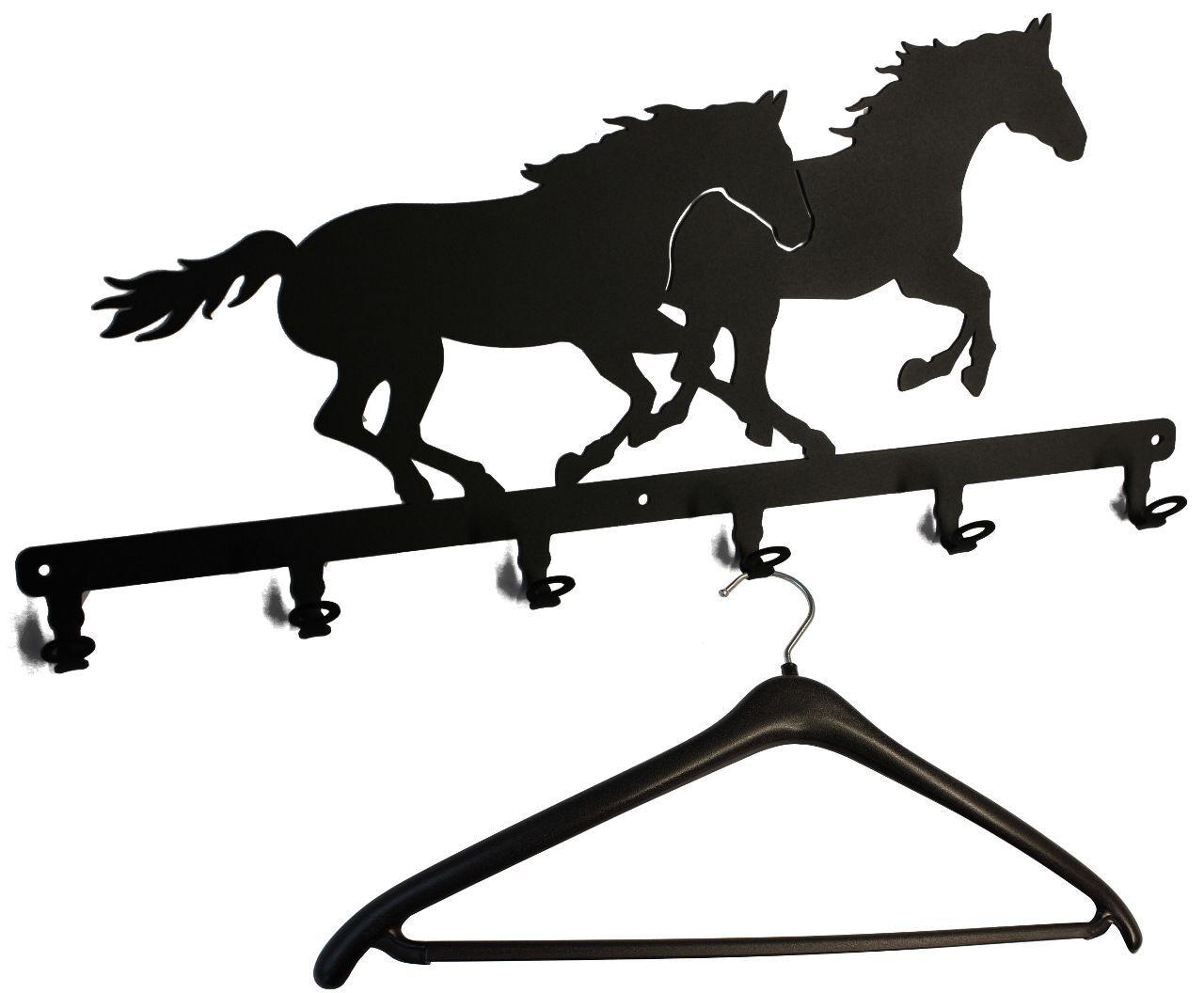 Wandgarderobe Garderobe - - - Rennpferde - Flurgarderobe Pferd - Garderobenhaken 5ffdd0