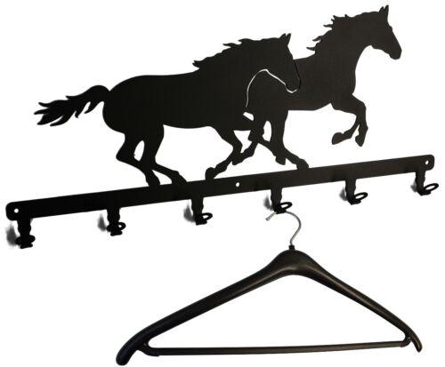 Rennpferde Flurgarderobe Pferd Garderobenhaken Wandgarderobe Garderobe