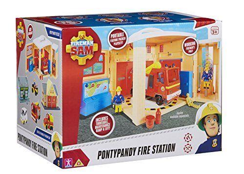 Fireman Sam 06849 Pontypandy Fire Station Playset