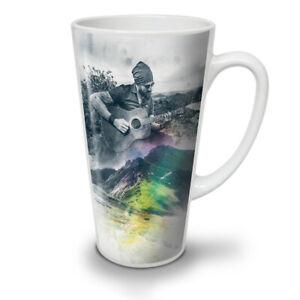Guitar Musician Art NEW White Tea Coffee Latte Mug 12 17 oz | Wellcoda