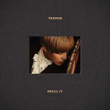 TAEMIN SHINee - Press It (1st Album) CD + Photobook + Photocard+ Gift Photo