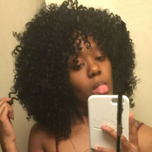 Afro Kinky Curly Hair Wigs For Black Women Short Curly Hair African American Wig Ebay
