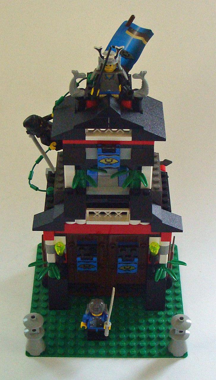 Lego® Ninja 6083 - Shoguns Festung 7-12 Jahren - Gebraucht