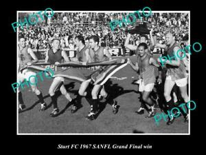 OLD-LARGE-HISTORICAL-PHOTO-OF-THE-STURT-FC-1967-SANFL-GRAND-FINAL-WIN