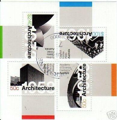 Australien KüHn Australien 2007 Architecture Sonderblock Fineused