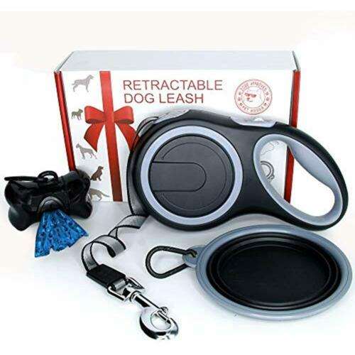 Retractable Dog Leash Large Extra Long 26 Ft Tape Medium Breed 110 Lb Heavy