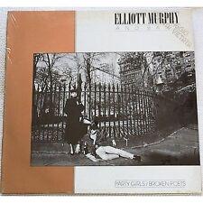 ELLIOTT MURPHY - Party girls Broken poets - LP VINYL 1984 SEALED PUNZONATO