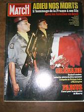 Paris Match N° 1798 11/11/1983 Beyrouth Marlon Brandon Gérard Depardieu Kacere
