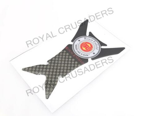 NEW ROYAL ENFIELD TANK PAD STICKER DECAL BLACK #RE2 CODE-233