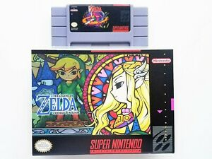 Legend-of-Zelda-Goddess-of-Wisdom-Game-Case-Super-Nintendo-SNES-USA-Seller
