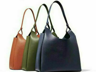 Faux Leather Tote Bag Shoulder Purse