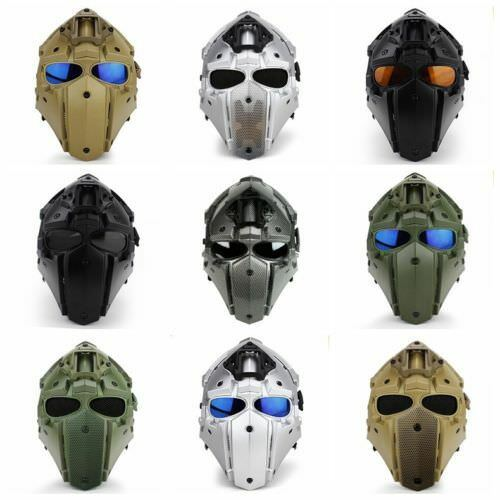 NEW BREATHING FREE TACTICAL OXIDIAN GOBL TERMINATOR MOTORCYCLE HELMET MASK
